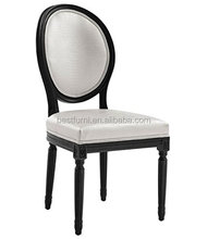 European Wood Antique Reproduction French Dining Chair