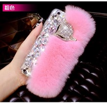 Hot Selling New Design Most Fashion Mobile Phone Cover For Q, New Design Fur Case For Iphone