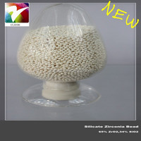 Raw material of enamel in emulsification glass, zirconium silicate bead/ball