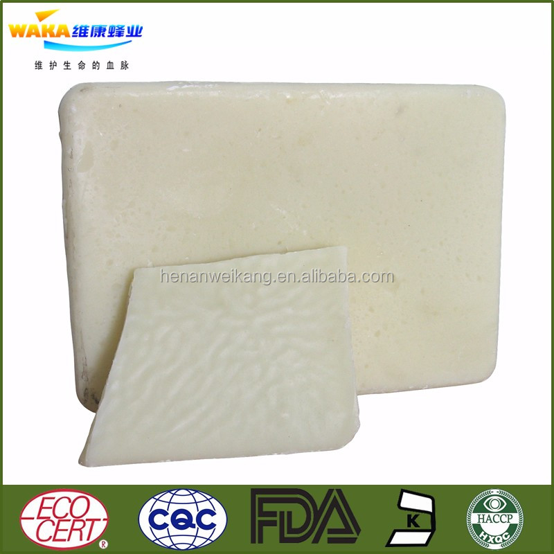 Wholesale high quality food grade beeswax| White and yellow beeswax factory supplier