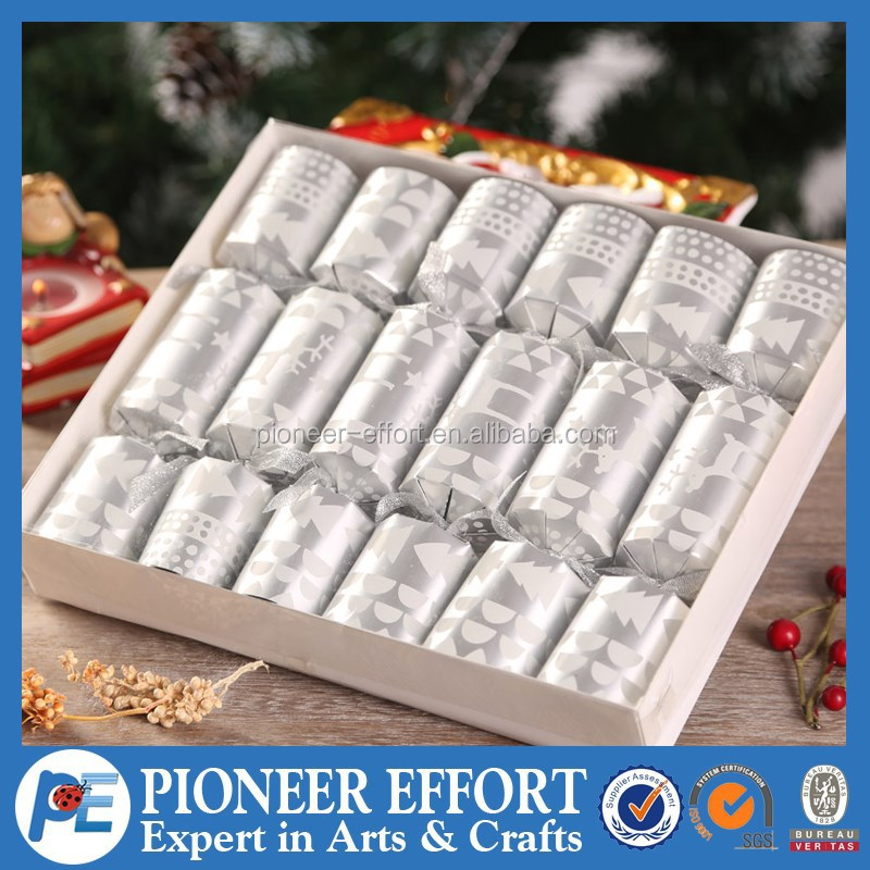 high quality custom christmas paper cracker for sale for christmas gift