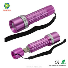 rechargeable USB led emergency light for gift China factory supply