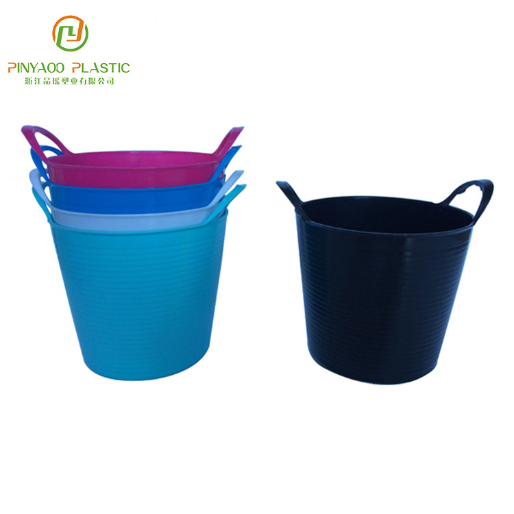 Various color multi purpose top quality custom plastic bucket