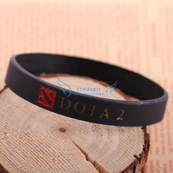 New products 2016 popular game silicon wristband for league of legends