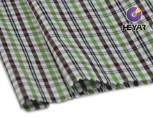 100 organic polyester cotton fabric wholesale for Men's shirt