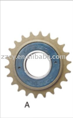 Good quality single speed flywheel and freewheel