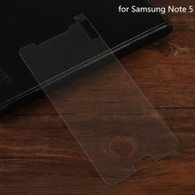 Super slim 0.26mm for Samsung note 5/note 4/note 3 transparent clear tempered glass screen protector