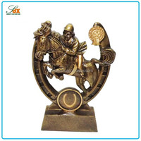Top quality Best-Selling resin equestrianism trophy