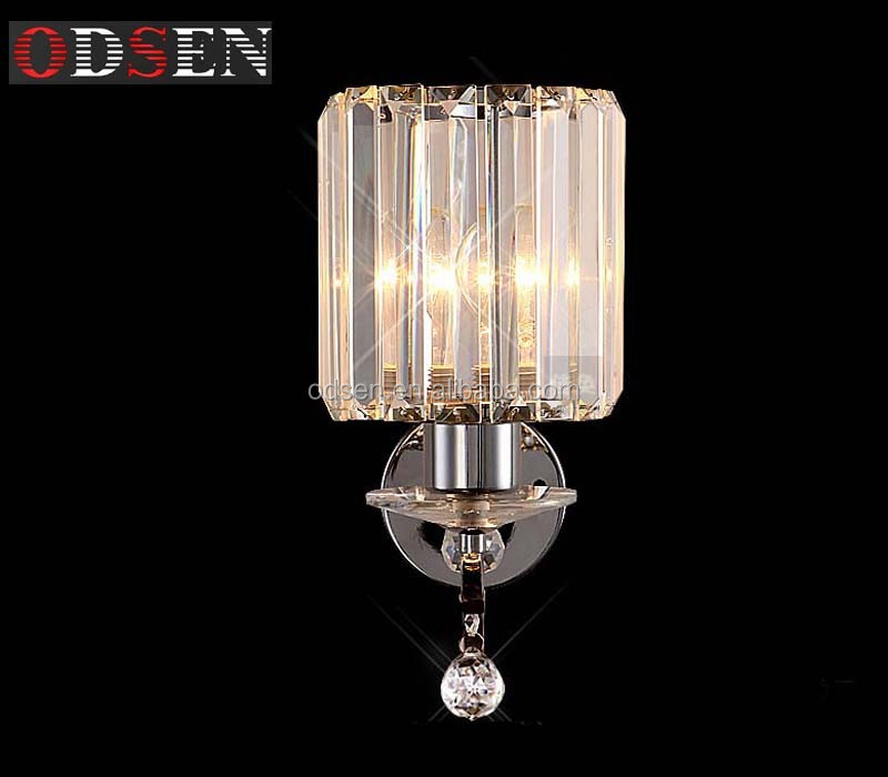 China Supplier Modern Crystal Bath Wall Sconce Crystal wall lighting