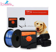 LoreWin TP16 Wireless Pet Containment System In-Ground Fence System 500M Remote Underground Shock Collar Dog Electric Fence