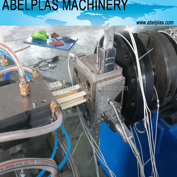 pvc wiring duct profile extrusion machine
