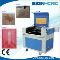 SIGN CNC Small Portable Laser Engraving Machine/ Cheap Price 4060 Laser Cutter and Engraver Machine