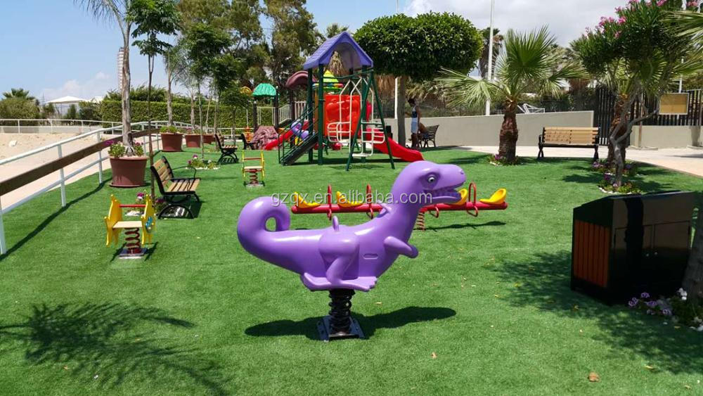 Bright Color kids outdoor play structures backyard playground sets QX-018B
