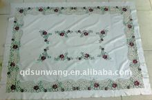 cutwork embroidery tablecloth