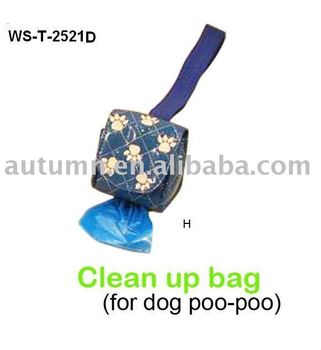 Cleaning pet pick up bags dispenser