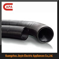 light weight IP68 corrugated plastic cable bellows plastic flexible corrugated cable/wire bellows
