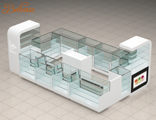 cosmetic display cabinet shop furniture and shopping mall kiosk design