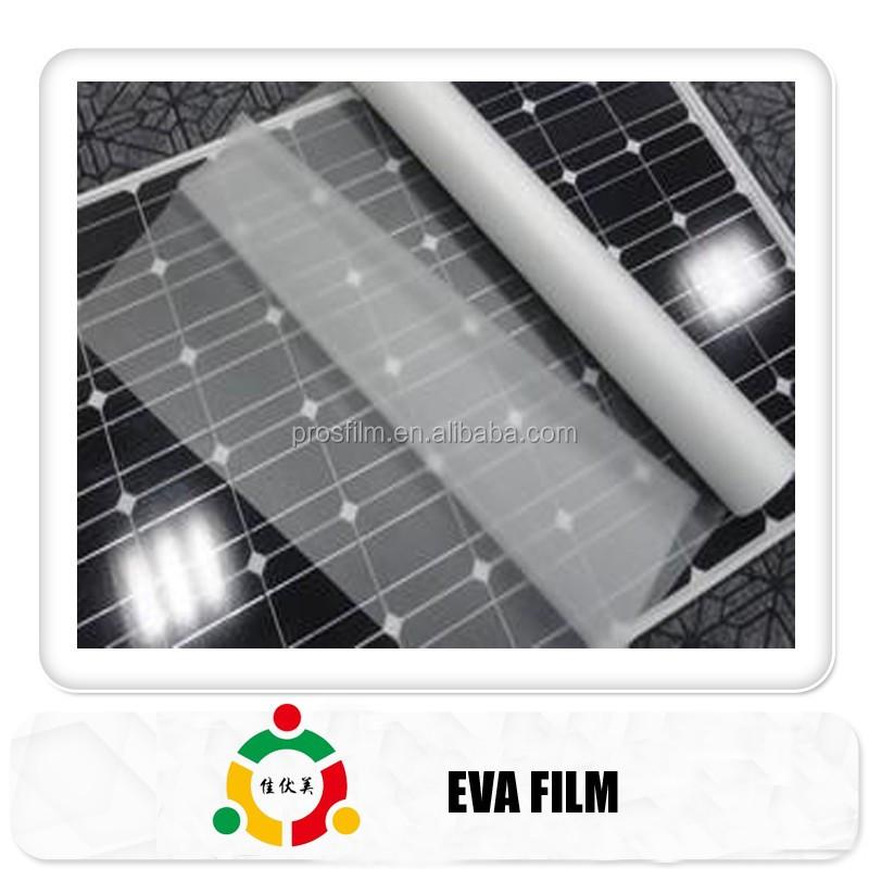 Pannello Solare Adesivo Flessibile : Eva film per adesivo sottile pannello solare