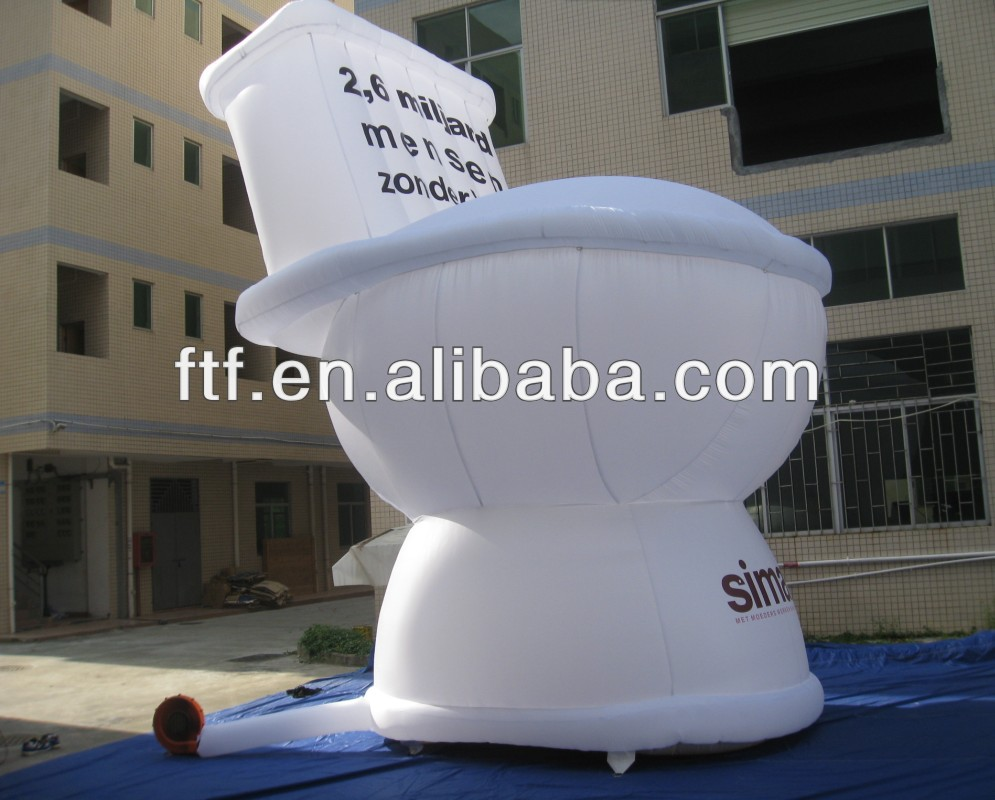 inflatable toilet model
