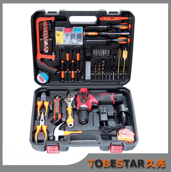 117PCS Swiss Hand repair tool box, bicycle hand tool kit with spanner set