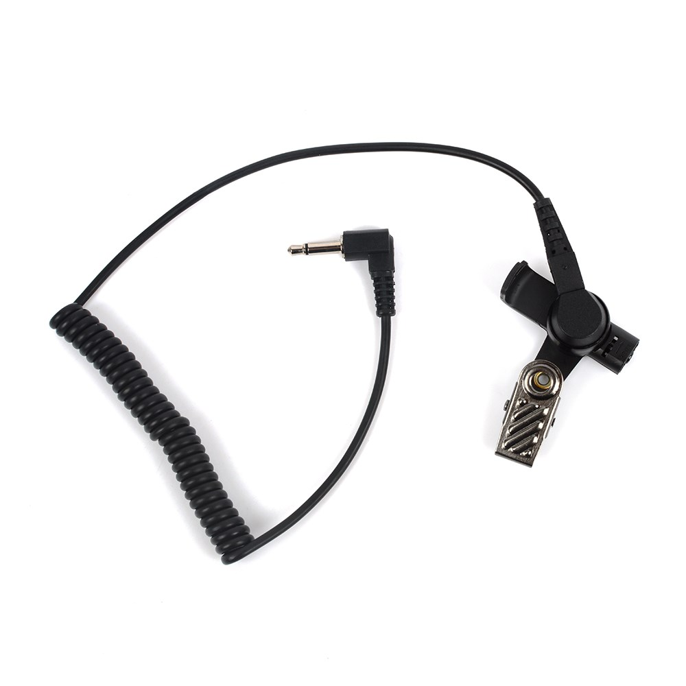 HYS Cheap 3.5mm Air Tube Listen Only FBI Security In-ear Walkie Talkie Radio Headset Earphone