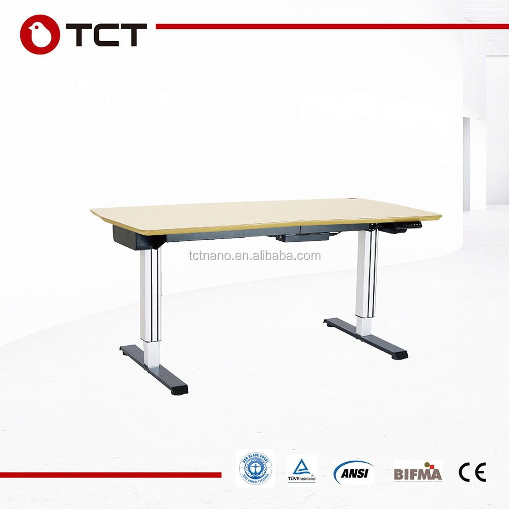TCT premium quality fashion designed durable electric office table