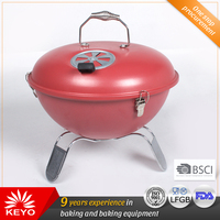 Small Portable Kettle Barbecue Apple Bbq Charcoal Grills