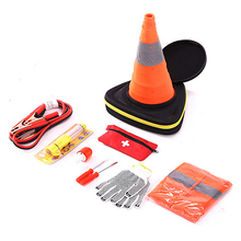 Emergency auto set safety repair car tool kit