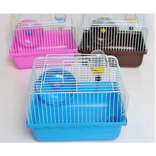 Factory made strictly checked folding hamster trap cage