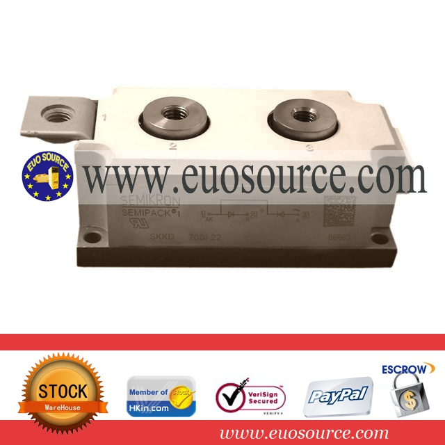 rectifier diode for welding machine SKKD700-22