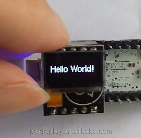 0.5 inch micro OLED display <strong>module</strong> for Arduino