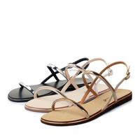 Wholesale Cheap Rubber Material Fashion Lady Sandal