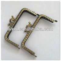 metal bag closure for purse making accessories
