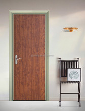 cheap exterior door single swing ,MDF board single swing door