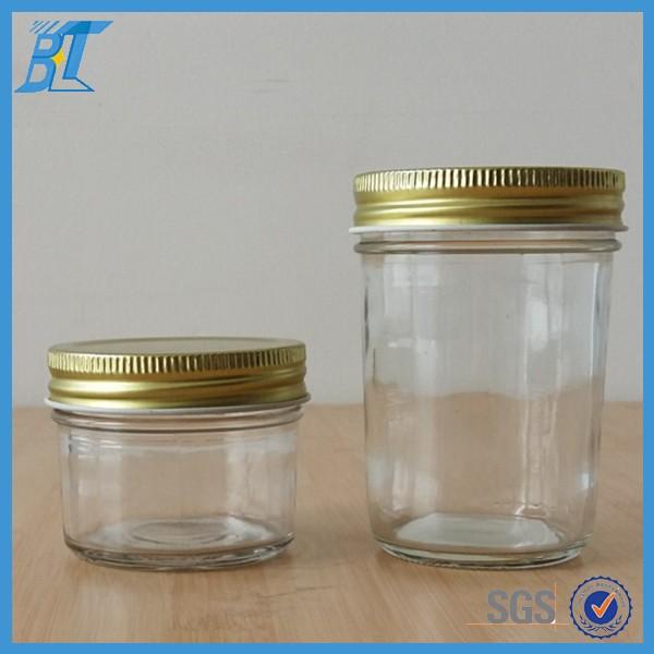 125ml 250ml 4oz 8oz wide mouth glass mason jar for jam. Black Bedroom Furniture Sets. Home Design Ideas