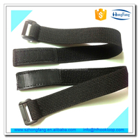 Anti slip adjustable elastic straps with buckle