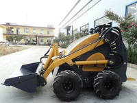multipurpose cheap price mini wheel loader machine tire 18*6.5-8