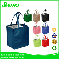Hot eco friendly promotional non woven cooler bag beer bag with logo