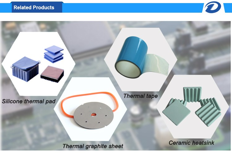 1.0-5.0w/m.k Thermal Conductive Silicone Pad for gap filling