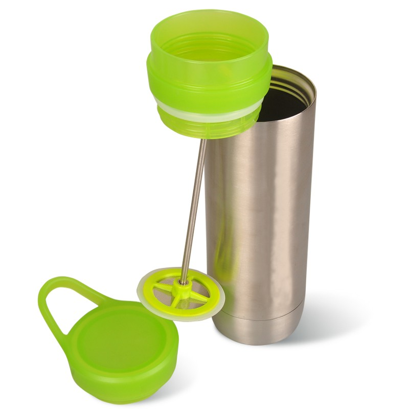 New Product Stainless French Press Coffee Maker With Plastic Lid Oem 500ml - Buy French Press ...