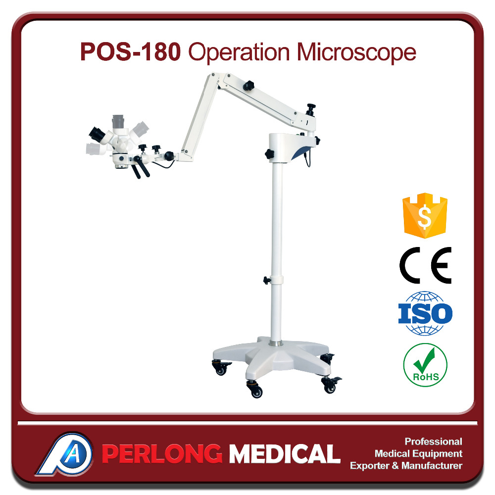 POS-180 CE ISO Approved ophthalmology Operating Microscope