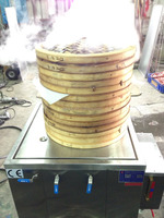 KS-90/India momo Single-hole Bamboo steamer application type / bun steamer