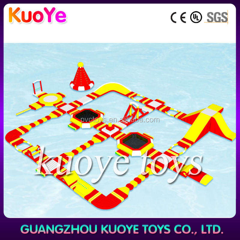 Good price kid and adult game giant inflatable water park