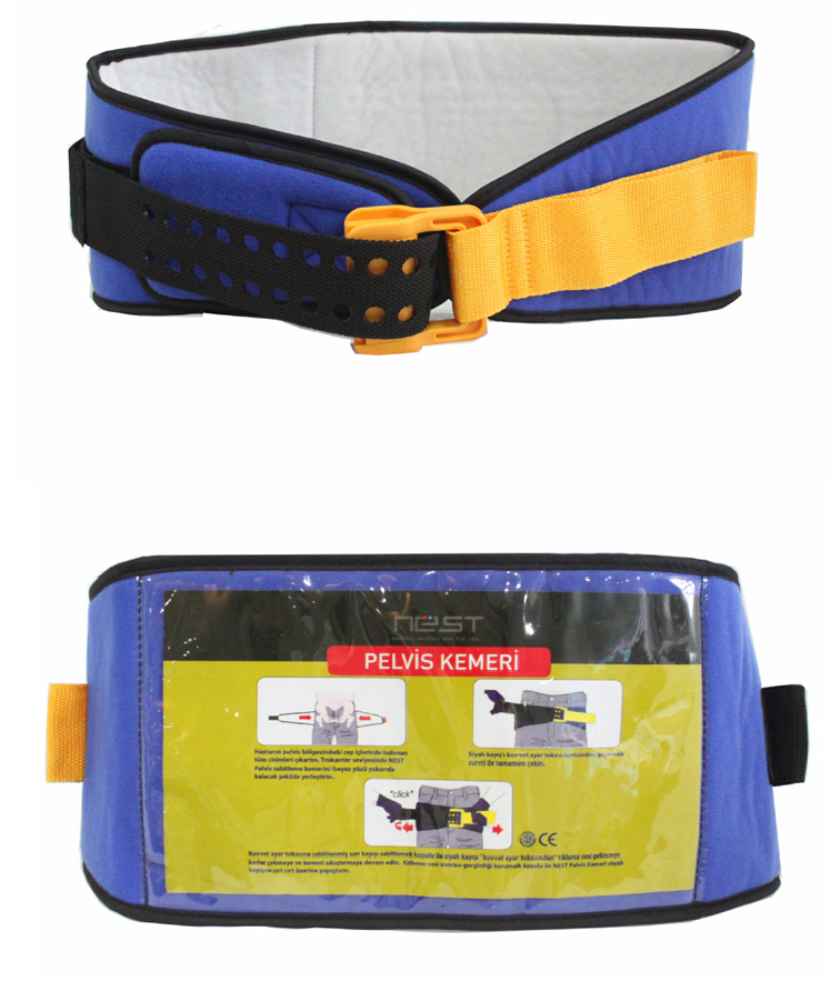 hot sale cotton nylon emergency medical pelvic sling bone belt