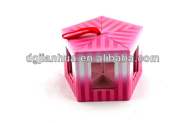 Christmas wood paper box