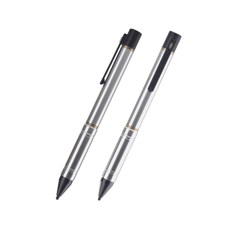 Good quality 2.3mm Nib diameter Active Capacitive Screen Pen with USB charging touch screen stylus pen for Ipad sangsum Iphone