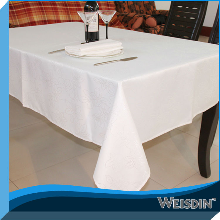 candle light table cloth for home and resturant