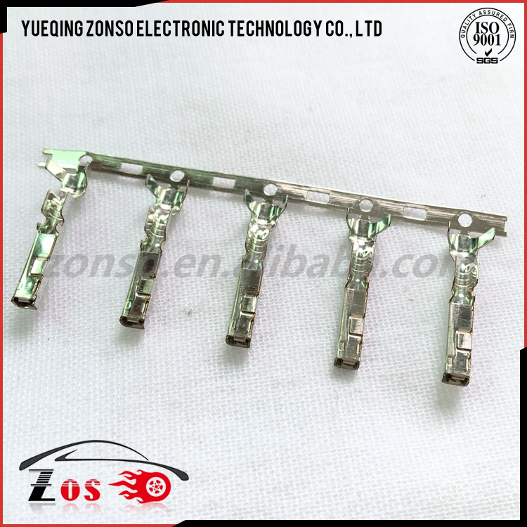 auto Brass Tyco waterproof electrical battery connector crimp terminal