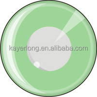 wholesale CL148 colored crazy contact lens yearly used GREEN RING