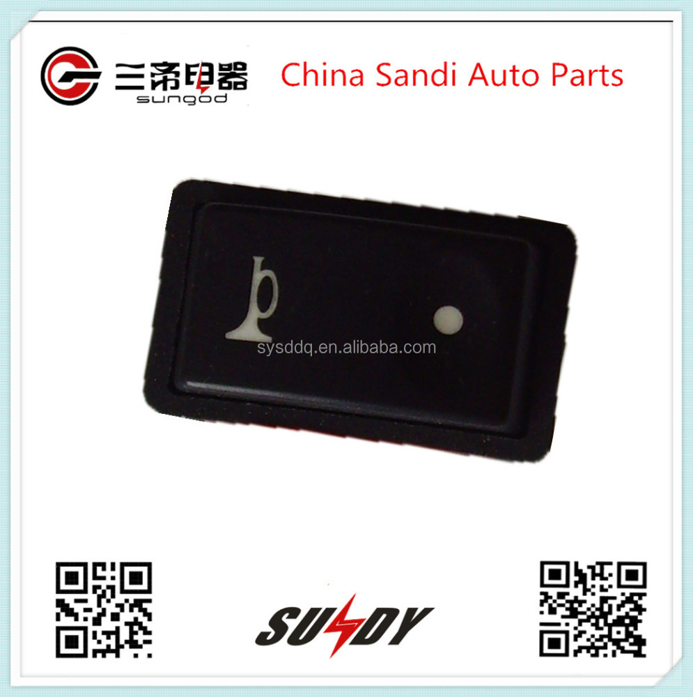 Foton Auman Auto air horn rocker switch with High quality